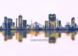 Vladivostok Skyline by Towseef Dar