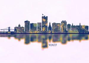 Waco Skyline by Towseef Dar