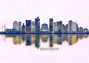 Wellington Skyline by Towseef Dar