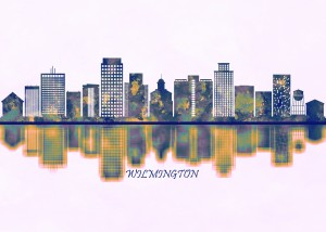 Wilmington Skyline by Towseef Dar