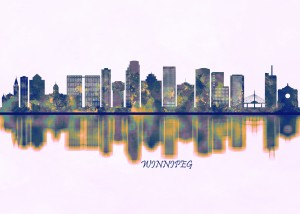Winnipeg Skyline by Towseef Dar