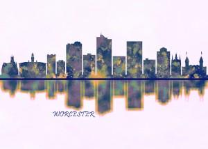 Worcester Skyline by Towseef Dar