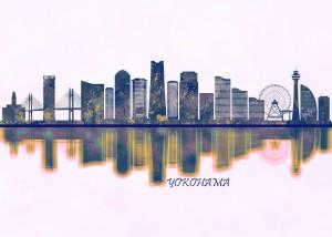 Yokohama Skyline by Towseef Dar