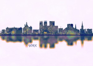 York Skyline by Towseef Dar