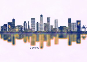 Zunyi Skyline by Towseef Dar