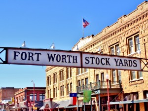 Fort Worth Stock Yards by by Tara