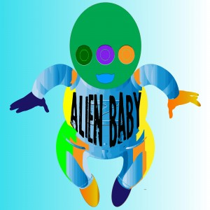 Alien Baby by dePace-