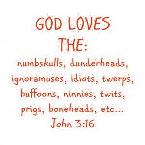 GOD Loves the by dePace-