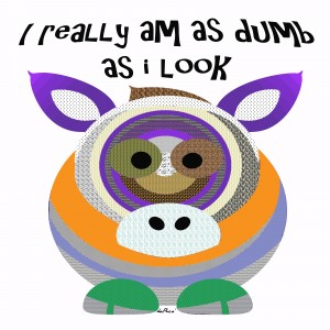 I REALLY AM DUMB AS I LOOK by dePace-