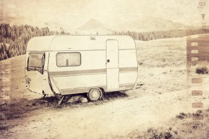 vintage travel trailer by dePace-