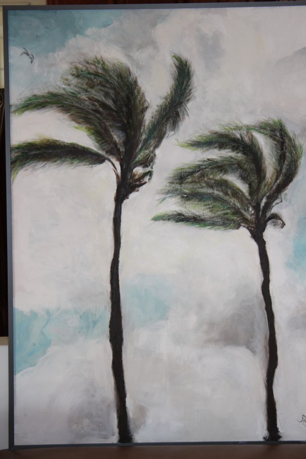 Palms by  Claire Vines Artist
