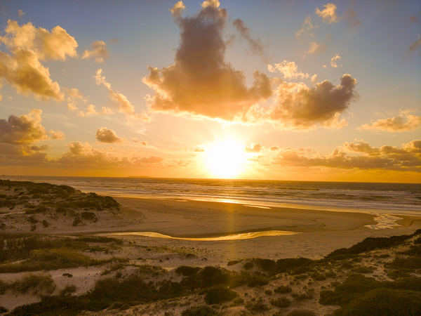 Atlantic Sunset over Praia Del Rey - Portugal Digital Download
