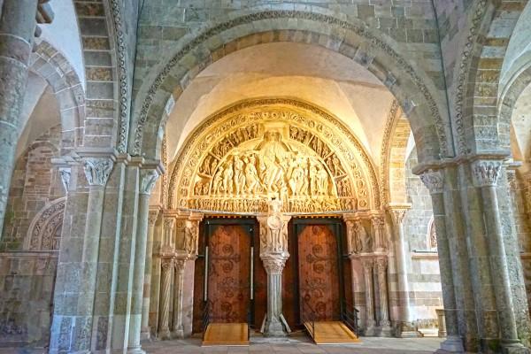 Basilica of Sainte Marie Madeleine 3 of 5 @  Vezelay France Digital Download