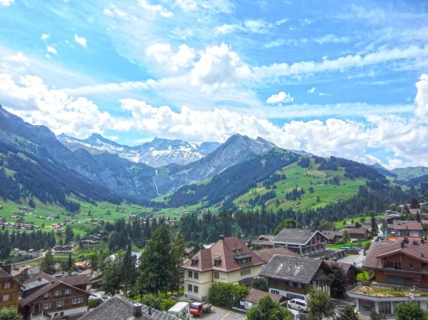Beautiful Day in the Swiss Alps Digital Download