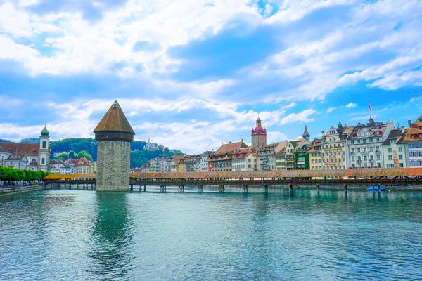 Chapel Bridge   Lucerne Switzerland Digital Download