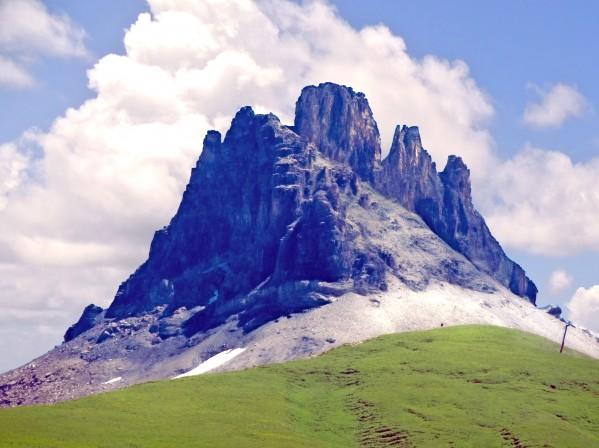 Mountain Peak in the Swiss Alps Digital Download