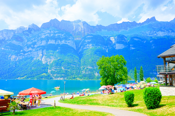 Snapshot in Time Walensee - Lake Walen Switzerland 1 of 3 Digital Download