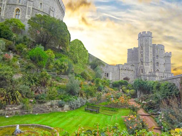Windsor Castle at Sunset Digital Download