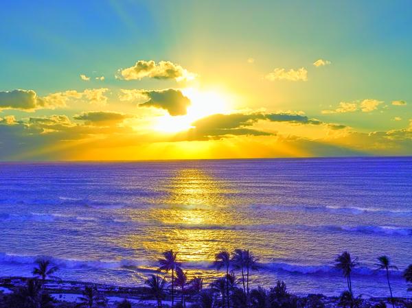 Golden Sunset After the Storm Digital Download
