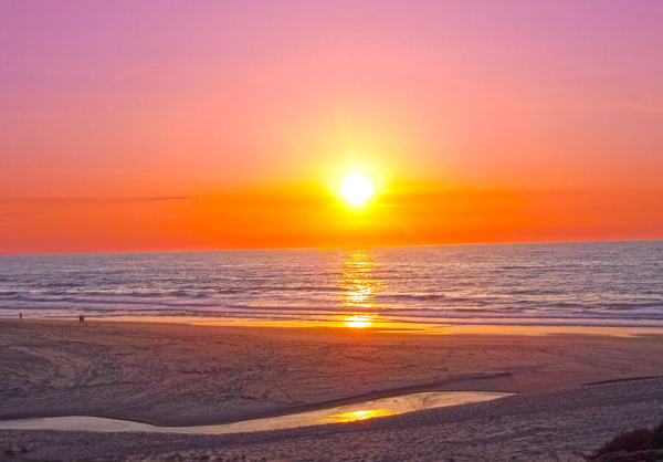 Serenity Found - Calming Atlantic Sunset in Portugal Digital Download