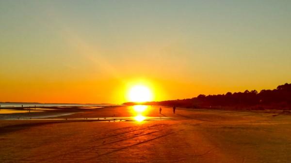 Sunset at the Atlantic Shore Digital Download