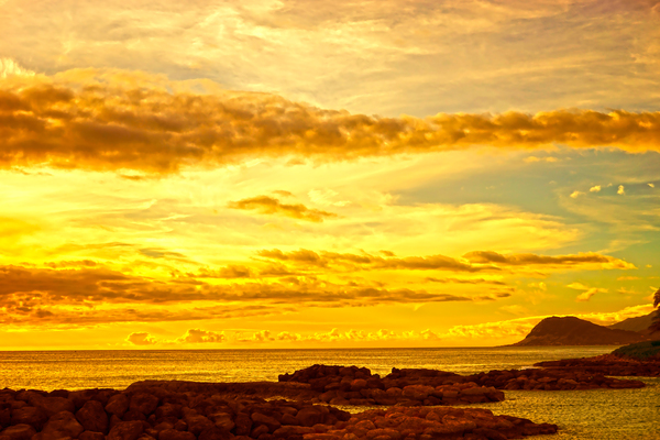Sunset in Paradise   South Seas Digital Download