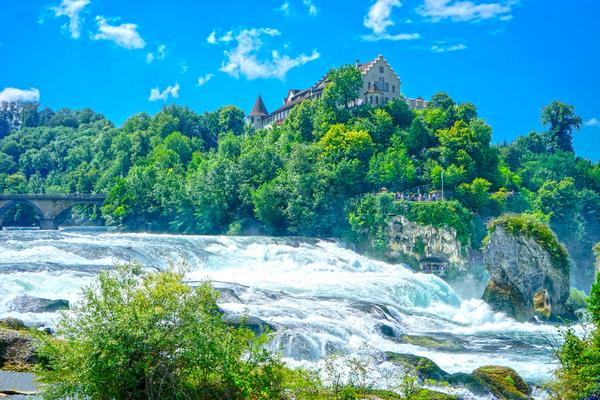 Perfect Day at Rhine Falls Switzerland Digital Download