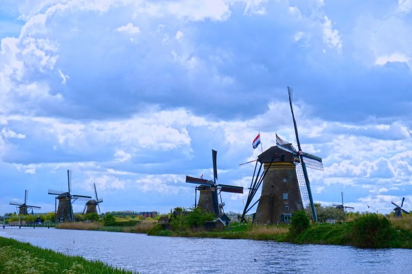 Windmills of the Netherlands 1 of 4 Digital Download