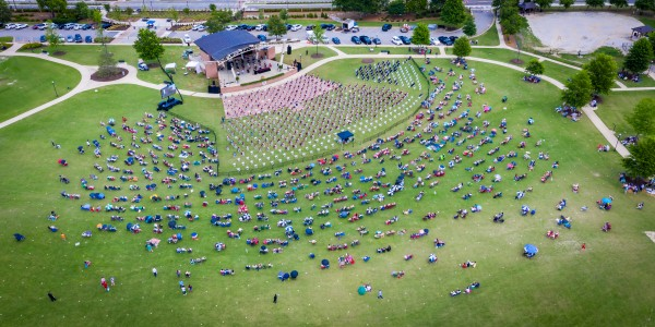 Lakeside High Class of 2020   Graduation Aerial View 0728 05 30 20 by @ThePhotourist