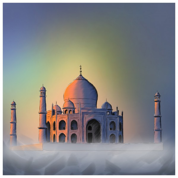 TAJ MAHAL by Aditya Angre