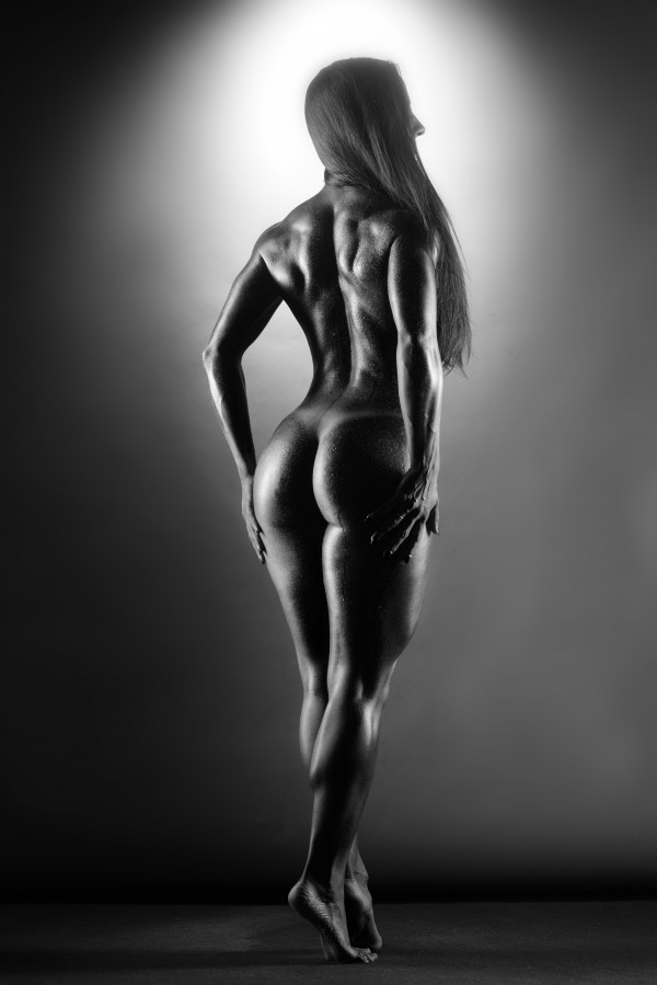 fitness_model_nude_sensual_standing_naked by Alessandrodellatorre