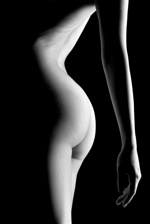 standing young attractive woman girl bodyscape by Alessandrodellatorre