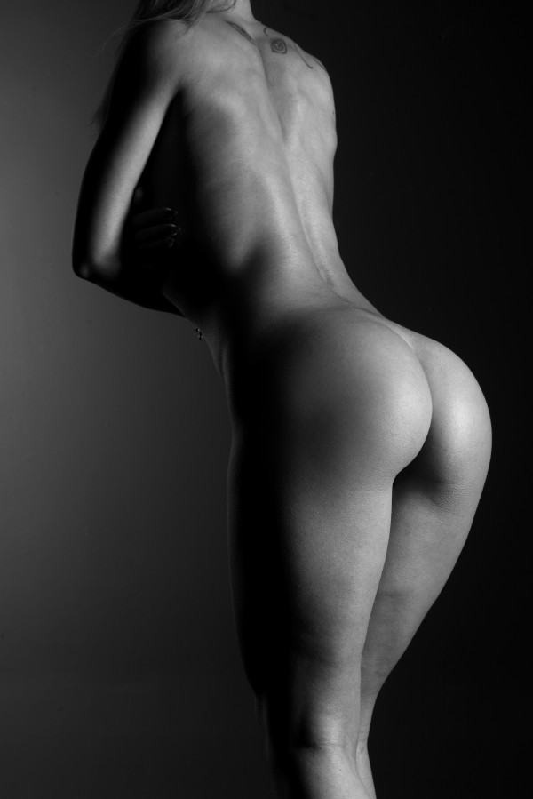young_nude_girl_attractive torso_with_buttocks_sexy by Alessandrodellatorre
