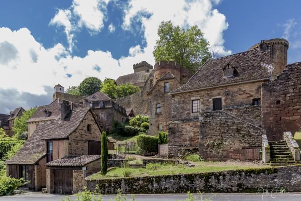 Castelnau Bretenoux by Alle Christian