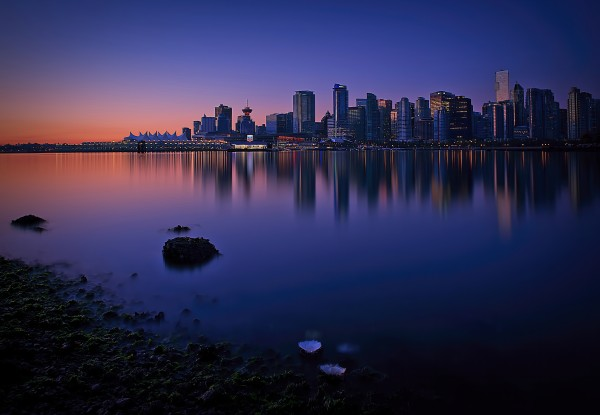 Vancouver Skyline by Amazing Vancouver & Beautiful British Columbia by Jorge Ligason