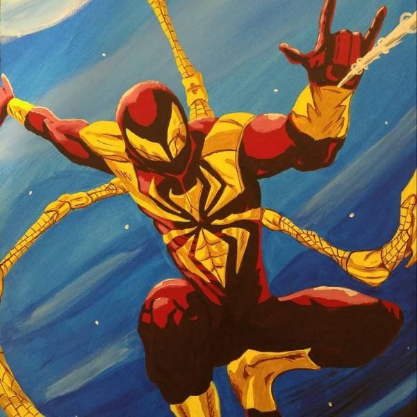 Iron Spiderman by Anarchy Art