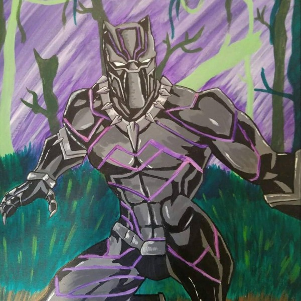 Black Panther by Anarchy Art