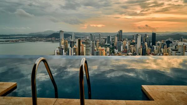 Panama City sunset by Andrew Wasik