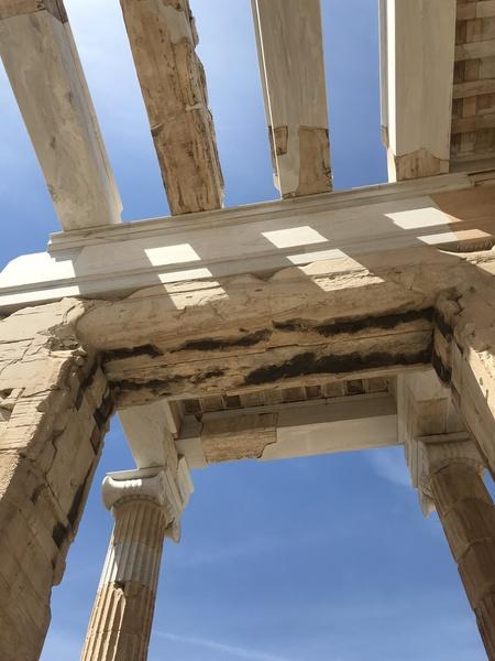 Acropolis of Athens Greece by Anita Varga