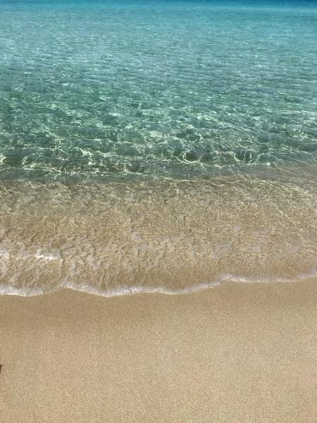 A clear blue sea Greece by Anita Varga