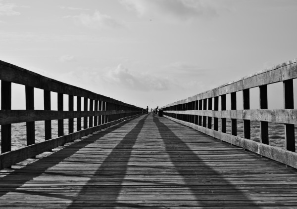 Pier Perspective 2 by Anthony M Farber