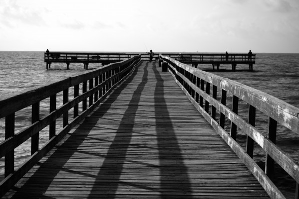 Pier Perspective 1 by Anthony M Farber