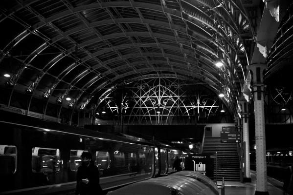 Paddington Station by Anthony M Farber