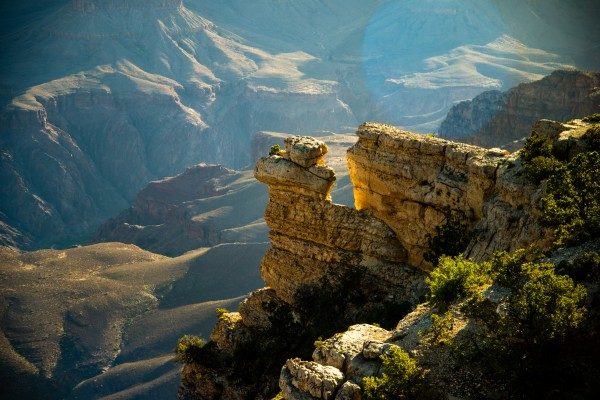 Grand Canyon South Rim by Anthony M Farber