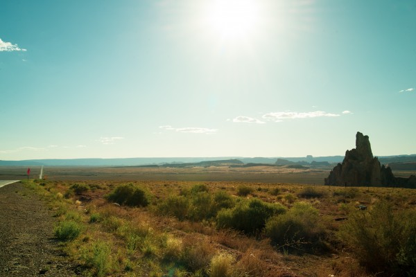 Desert Landscape by Anthony M Farber