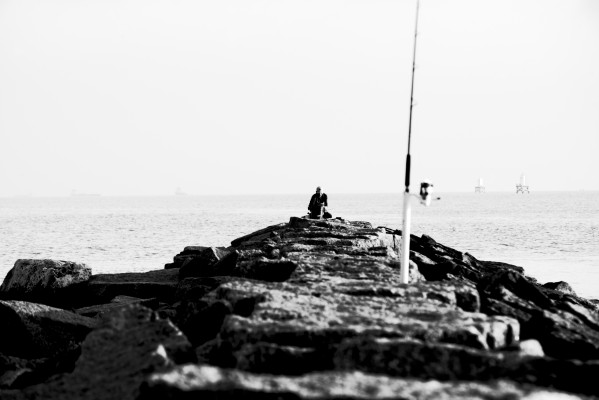 Fisherman by Anthony M Farber