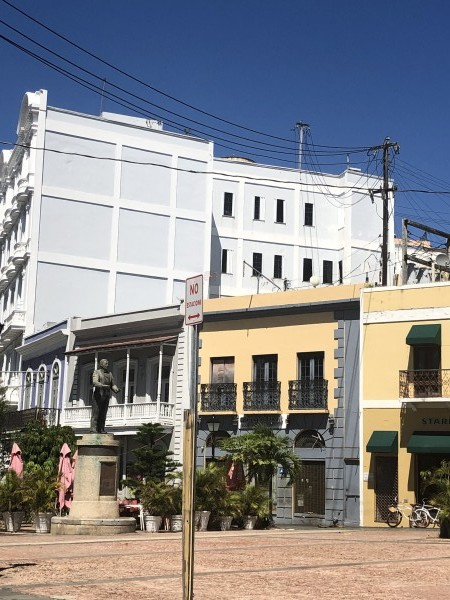 A Street Side in Puerto Rico Series: 4 by Anushree Sengupta