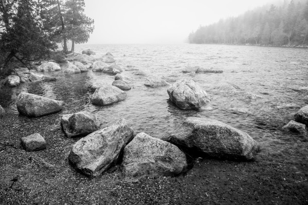 Boulders ap 2370 B&W by Artistic Photography