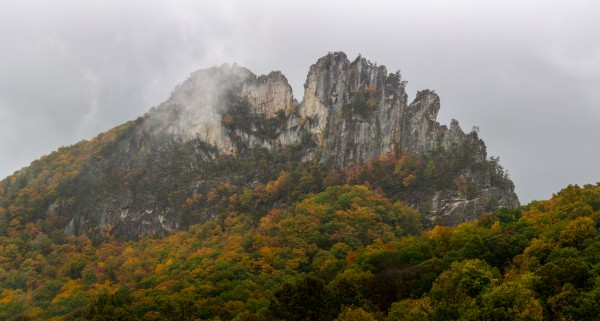 Seneca Rocks apmi 1881 by Artistic Photography