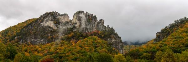 Seneca Rocks apmi 1884 by Artistic Photography
